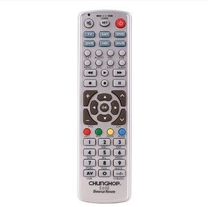 Image 2 - Combinational Remote Control Learn for TV SAT DVD CBL DVB T AUX CE Smart TV 3D Chunghop E698