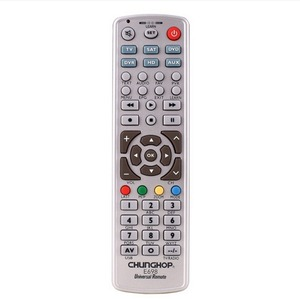Image 2 - קומבינטוריים שלט רחוק ללמוד לטלביזיה SAT DVD CBL DVB T AUX CE חכם טלוויזיה 3D Chunghop E698