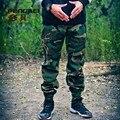 Открытый бренд спорт камуфляж шаровары мужчин хип-хоп бег армейские штаны мужские бегунов военные брюки камо тактические брюки