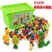 630pcs/Set Creative Building Blocks Bricks DIY Assemble Construction Particles Children Educational Toys Compatible With Legoe