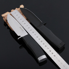 HIGHT QUALITY Buck OEM 009 death Folding Blade OUTDOOR Knife rubber Handle Tactical Hunting Camping survival Knife 58HRC
