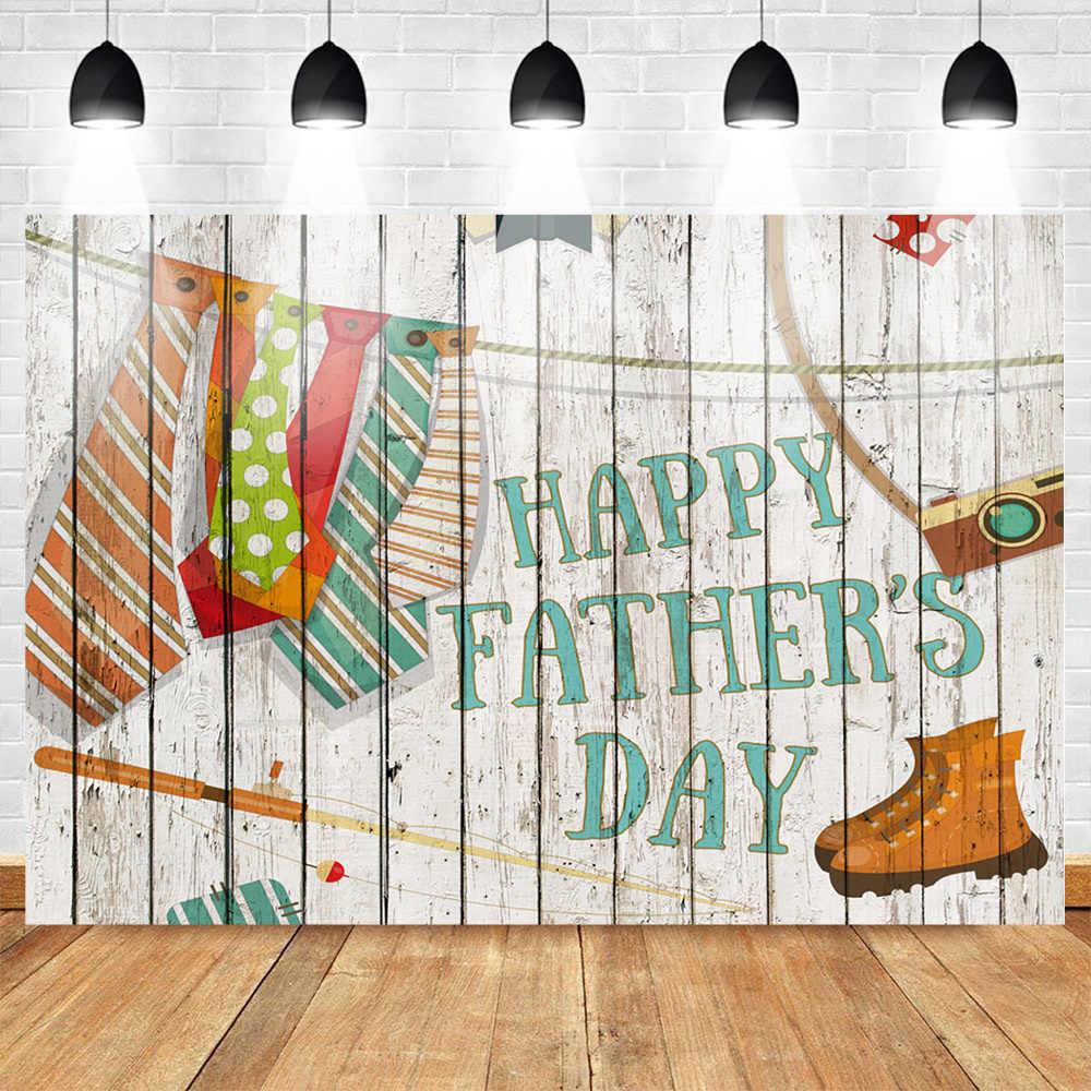 Neoback день счастливого отца фотографии фонов галстук фон для фотосессии деревянный пол фон Фотофон любовь папа