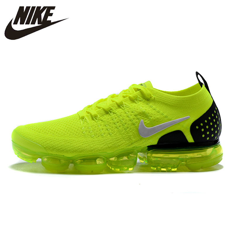 first rate 2e350 ef6e4 NIKE AIR VAPORMAX FLYKNIT 2 Running Shoes Sneakers Outdoor for Women Black  gold 1802-13