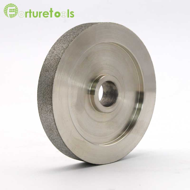 1 piece diamond coated precision grinding wheels for optical lens glass grinding customized diamond tools China supplier DD062