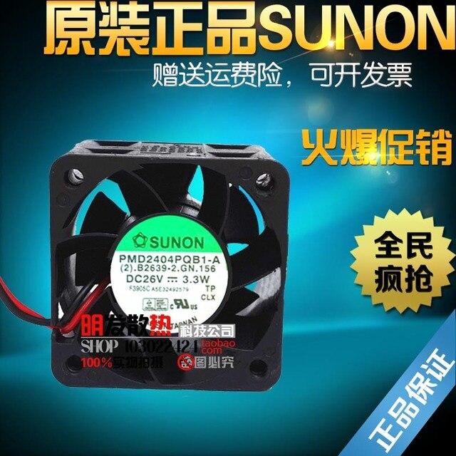 26 V 3.3 W 4 CM PMD2404PQB1-A originais 40*40*28 do ventilador do inversor