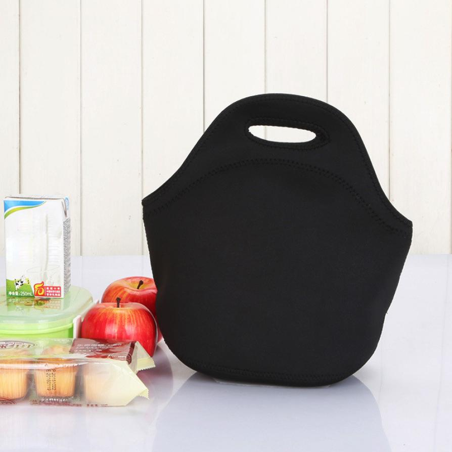 HOT! Lunch bag storage home office storage Neoprene Lunch Tote Bag Insulated Waterproof Lunch Box for Women Adults Kids bags 6