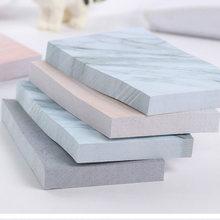 1 adet sevimli Kawaii yaratıcı dikdörtgen taşlar yapışkan notlar not defteri planlayıcısı çıkartmalar ofis okul malzemeleri kırtasiye