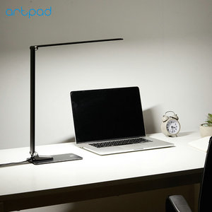 Image 3 - Aluminium Alloy Long Arm Super Thin 12W 6 Brightness 5 Color Temperatures USB Charge Phone Foldable Lamp Desk Led 220V For Work