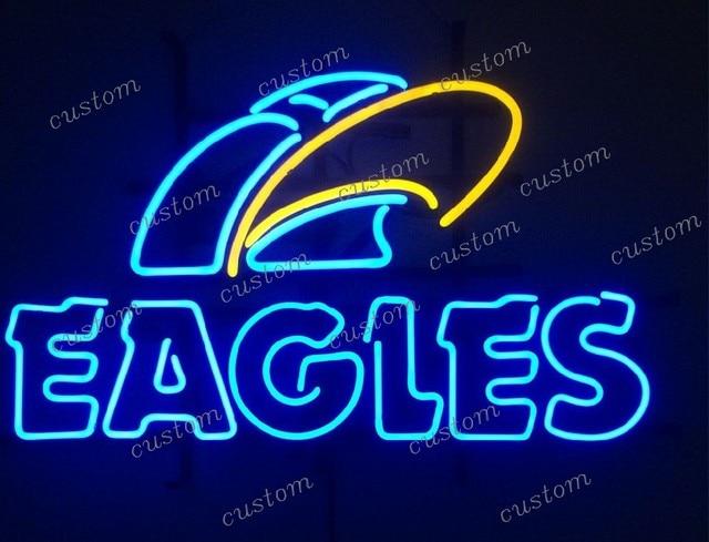 Custom EAGLES Neon Light Sign Beer Bar