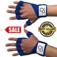 Fitness Handschuhe Halb Finger männer Paar Gewichtheben Handschuhe Gürtel Gym Sport Schwergewicht Körper Gebäude Handgelenk Schutz Frauen