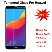 For Huawei Honor 7A Pro 5.7 inch Screen Protector 2.5D 9H Tempered Glass For Huawei Honor 7A Y6 2018 Honor 7 A Pro aum-l29 Film