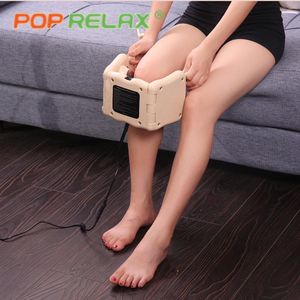 POP RELAX 11 balls tourmaline infrared heater massage roller LED photon <font><b>light</b></font> <font><b>therapy</b></font> knee device body pain relief ion projector
