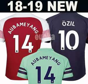 d1ad3e92a 2019 Arsenal 2018 OZIL JERSEY football kit Top soccer shirt