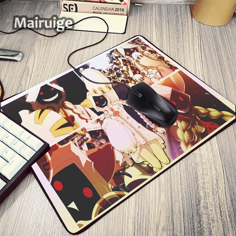 Mairuige Hot Selling Animation Cute Sexy Anime Girls Mousepad BLAZBLUE 2D Game As Gift for Anime Gamer and Decorate Pc Desktop