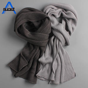 Knit Scarf Warm Winter Spring Ladies Thick Unisex Cashmere Men's