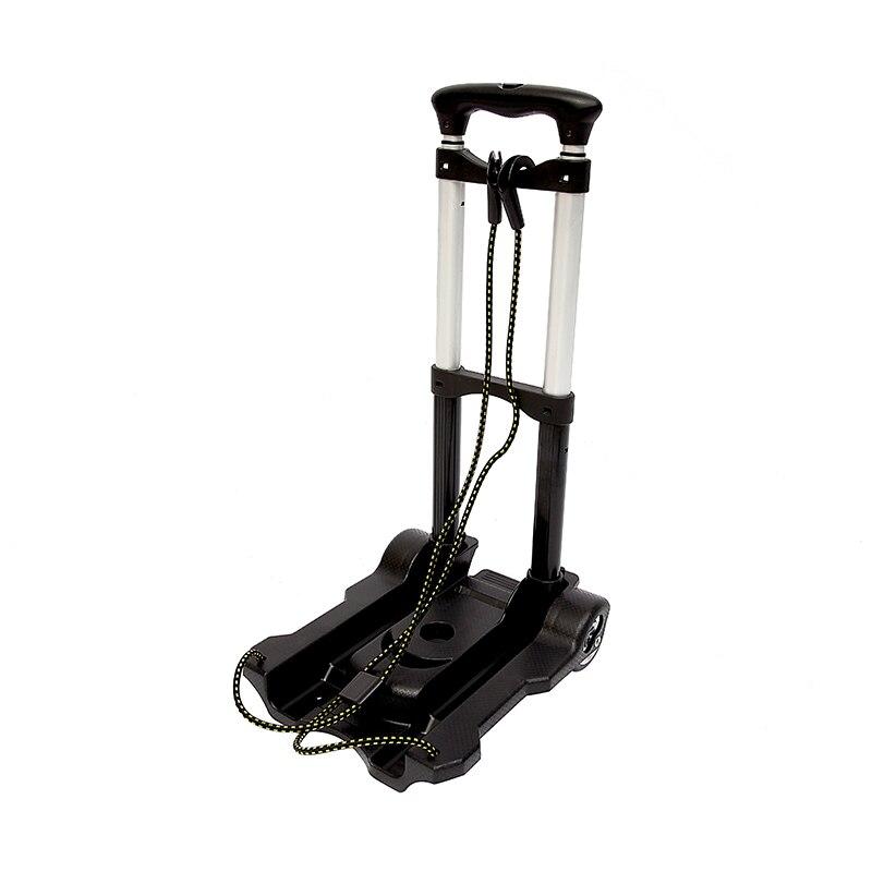 Chariot de voyage Portable pliant en métal chariots de bagages réglables à la maison chariot d'expédition chariot fixe sacs de voyage accessoires fournitures