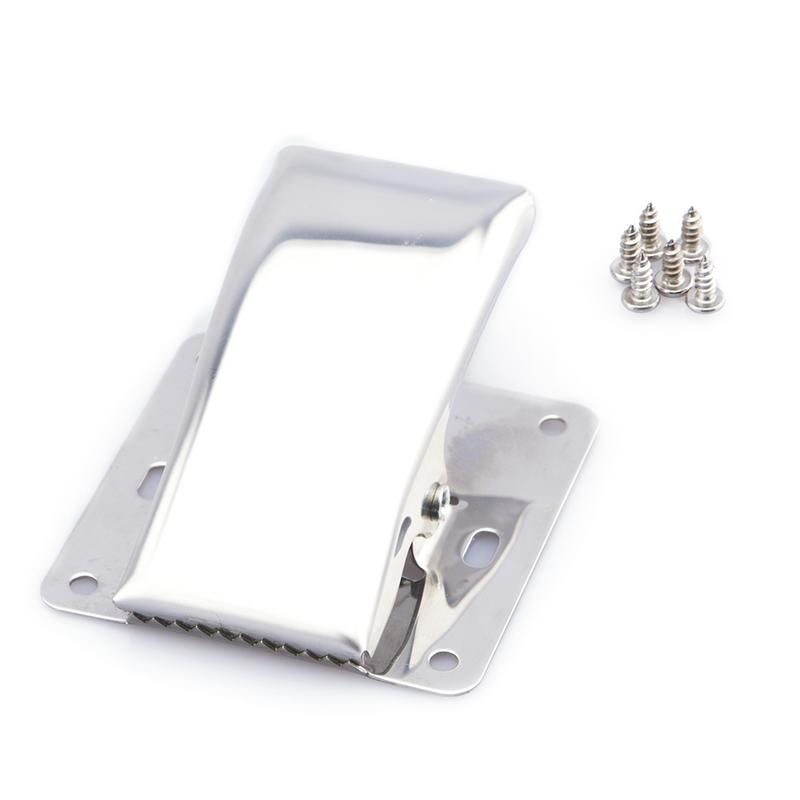 Stainless Steel Fish Fillet Fish Plate Cleaning Board Deep Mouth Fishtail Clip With Mounting Screws Wide Range Of Uses