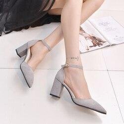 Shoes woman 2016 new high heels ladies pumps sexy thin air heels footwear woman shoes zapatillas.jpg 250x250