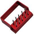Dental DENTISTA Aço de Tungstênio brocas/brocas Para Peça de Mão de Alta velocidade FG-1957 10 pçs/caixa
