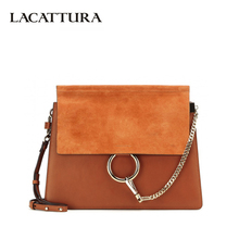 LACATTURA Luxury Handbags Women Bags Designer Leater Handbag Chain Shoulder Bag Fashion Ladies Clutch Crossbody for Women