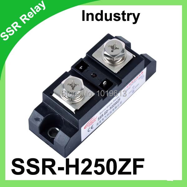 ФОТО Factory supply da 250A industrial solid state relay 250a SSR-H3250ZF