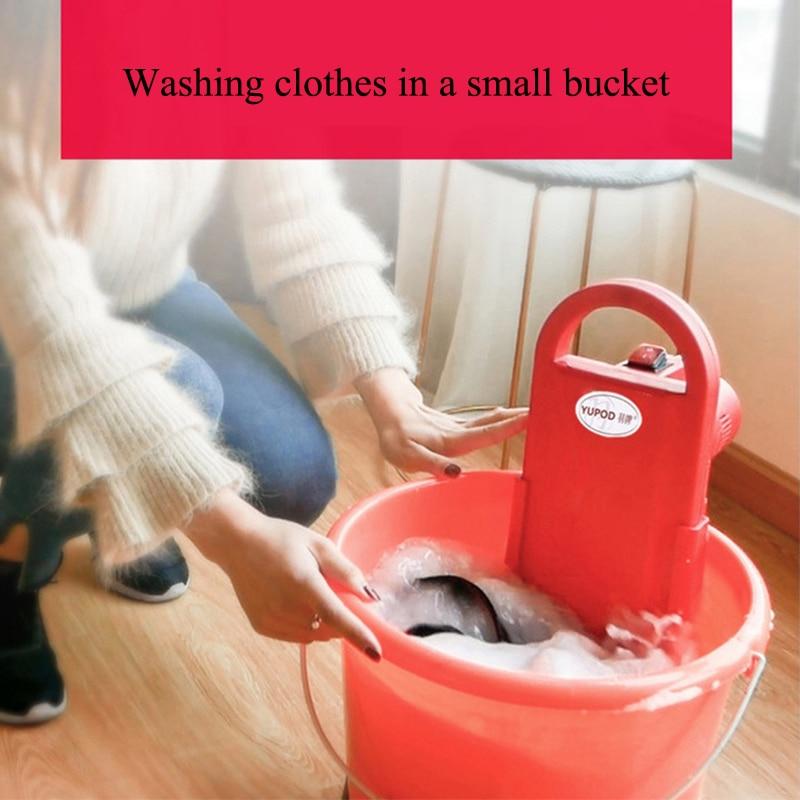все цены на Mini Washing Machine Automatic Portable Washing Machine Portable Washer Machine Mini Washer Student Dormitory Rent Room 110/220v
