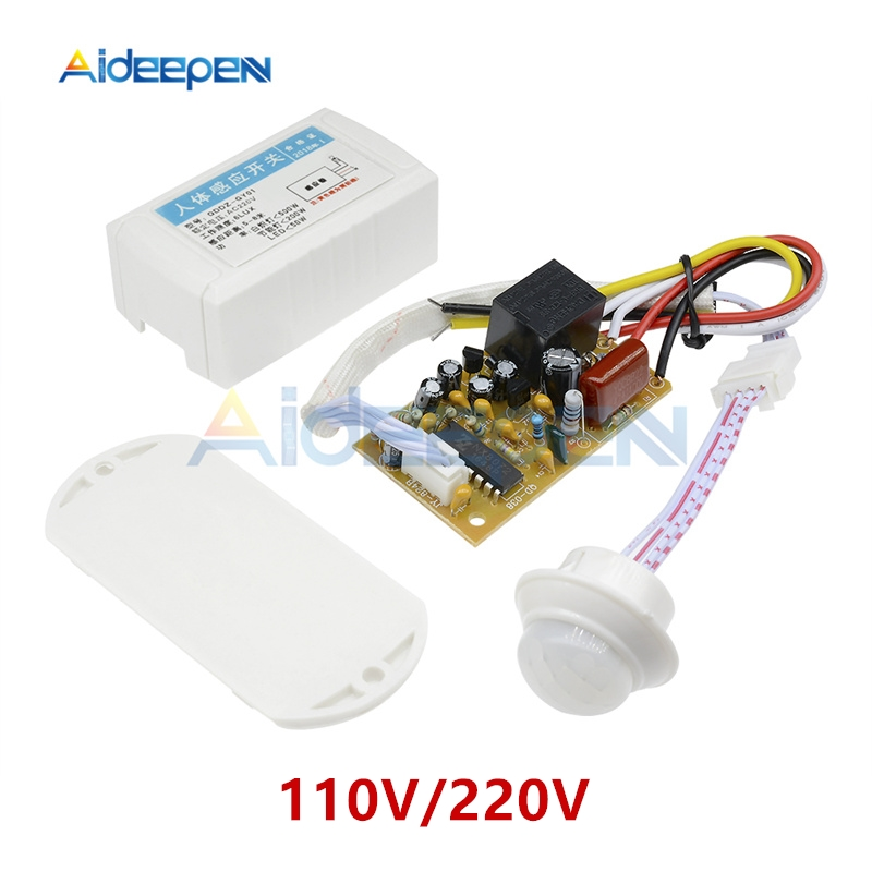 Sporting 110v 220v Human Motion Body Infrared Ir Sensor Automatic Light Switch Intelligent Lamp Controller Sensor For The Corridor/stairs Switches Lights & Lighting