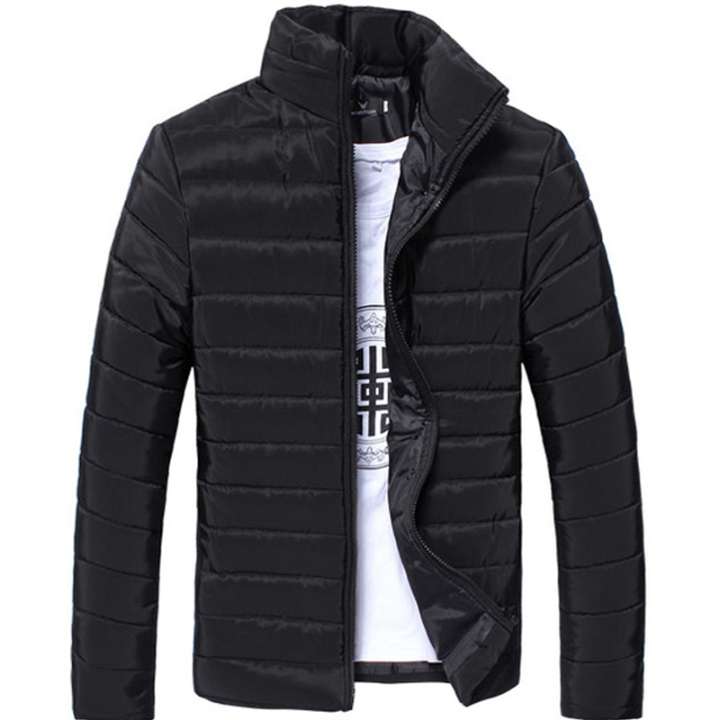 White Mens Winter Down Jacket Men Coats 2018 Doudoune Homme Hiver Marque Casual Fashion Slim Brand Clothing