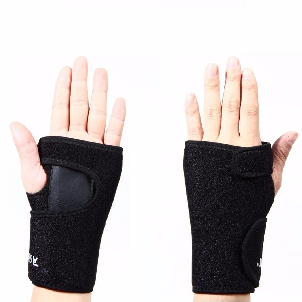 Driving gloves carpal tunnel - 1pcs Wrist Support Hand Brace Band Carpal Tunnel Splint Arthritis Sprains Useful Protector Sport Left