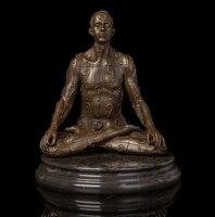 Медь латунь ремесла украшения Азии Леди Классический античная бронза Статуи sculpure лоток Варенье творческий мягкая украшение Рождество