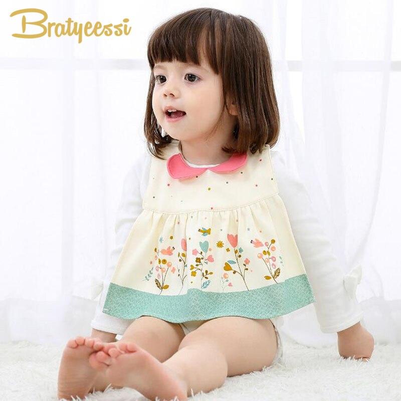 Nuevo Bebé de algodón dulce Pañuelo con estampado de flores Baberos para bebés Baberos Bebes a prueba de agua para niña por Snap Fastener
