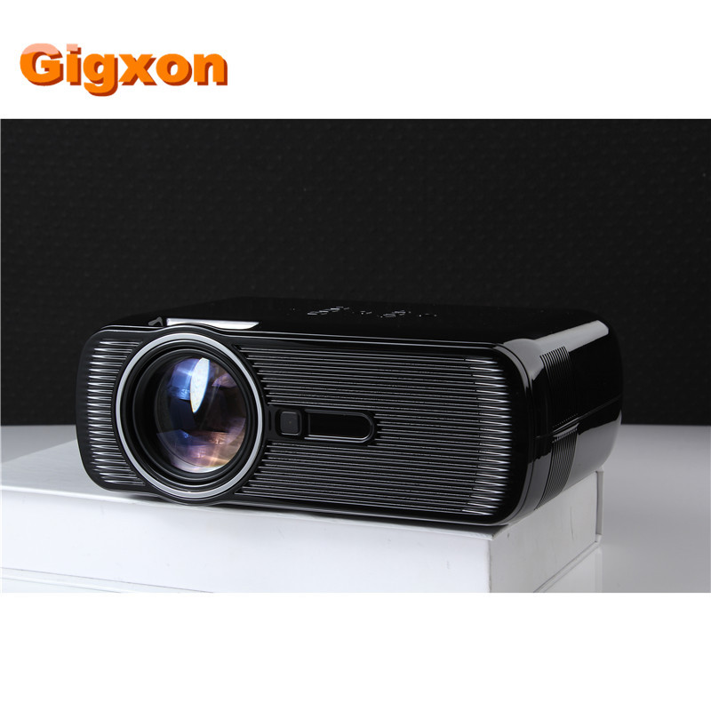 Gigxon G80 2016 the newest home cinema led projector 800 480P 1000 lumens set top box