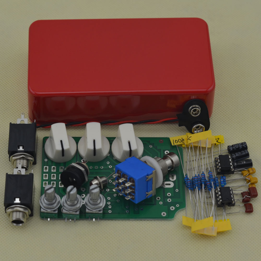 Diy Overdrive Guitar Effect Pedal True Bypass Electric Wiring Harness Stompbox Pedals Od2 Kits R