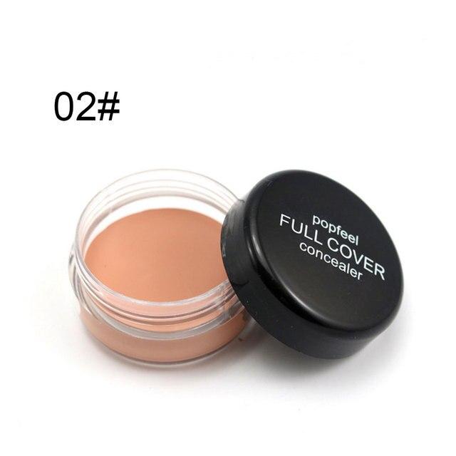Base Concealer Cream Face Cover Blemish Hide Dark Spot Blemish Eye Dark Circles Lip Contour Makeup Liquid Foundation Cosmetic 5