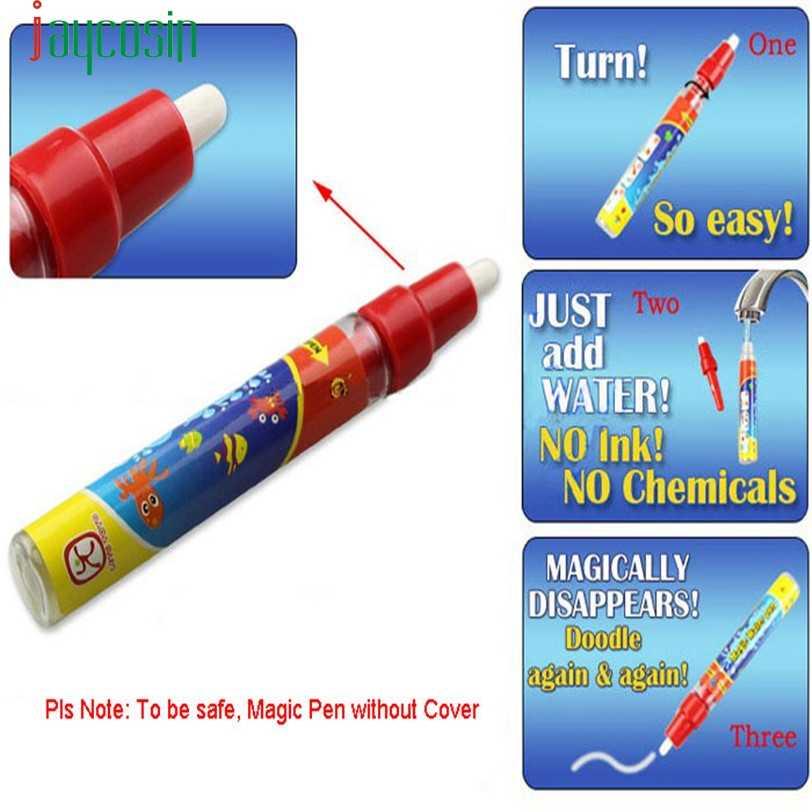 HIINST ผู้ขายที่ดีที่สุดสี่สี magical น้ำ 3Xcm วาดภาพวาดการเขียนกระดาน Mat & Magic ปากกาของเล่น Doodle ของขวัญ ag9 P23