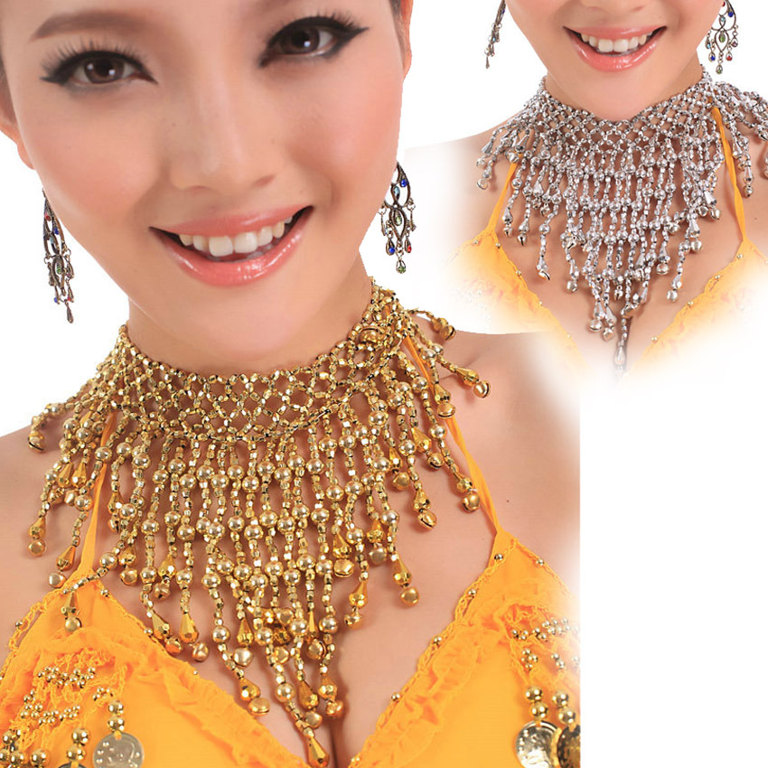 2016 High Quality Women Cheap Belly Dance Necklace Belly Dancing Accessories Jewelry Sets On Sale