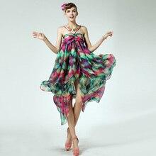 strapless dress hipie boho pprint bohemian beach women summer vintage robe longue rockabilly tunique hora de aventura femme maxi