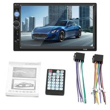 Universal Car Radio 7 Inch 2 DIN  Bluetooth Stereo Radio Car Mp5 Card Player Connected To The Camera Car  Radio