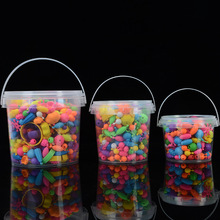 DIY colorful Handmade String beads toys mix beads for DIY beaded jewelry gifts educational toy for children