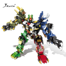 Holy Beast Armed Tianhuo Canglong  Early Education Plastic Childrens Assembled Toys Building Blocks 6226-6231