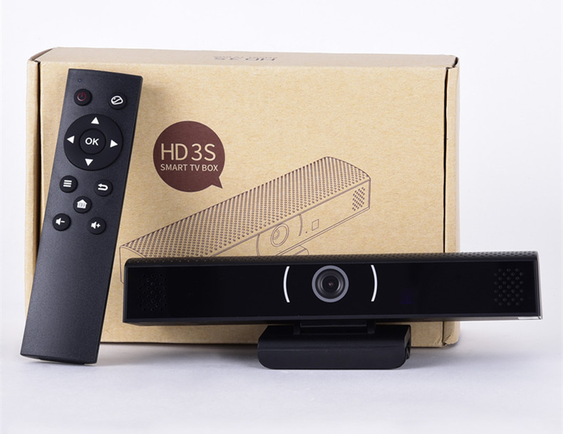 Newest Sale HD3S Tv Box 1GB 8GB Android 6.0 Camera Allwinner Quad-core TV Box HDMI Smart TV Box Built In DSP Mic Speaker PK HD23