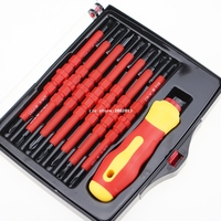 14 IN 1 Magnetic Screwdriver Set Multi Purpose Screw Driver For Family Commonly Used Tools 2028