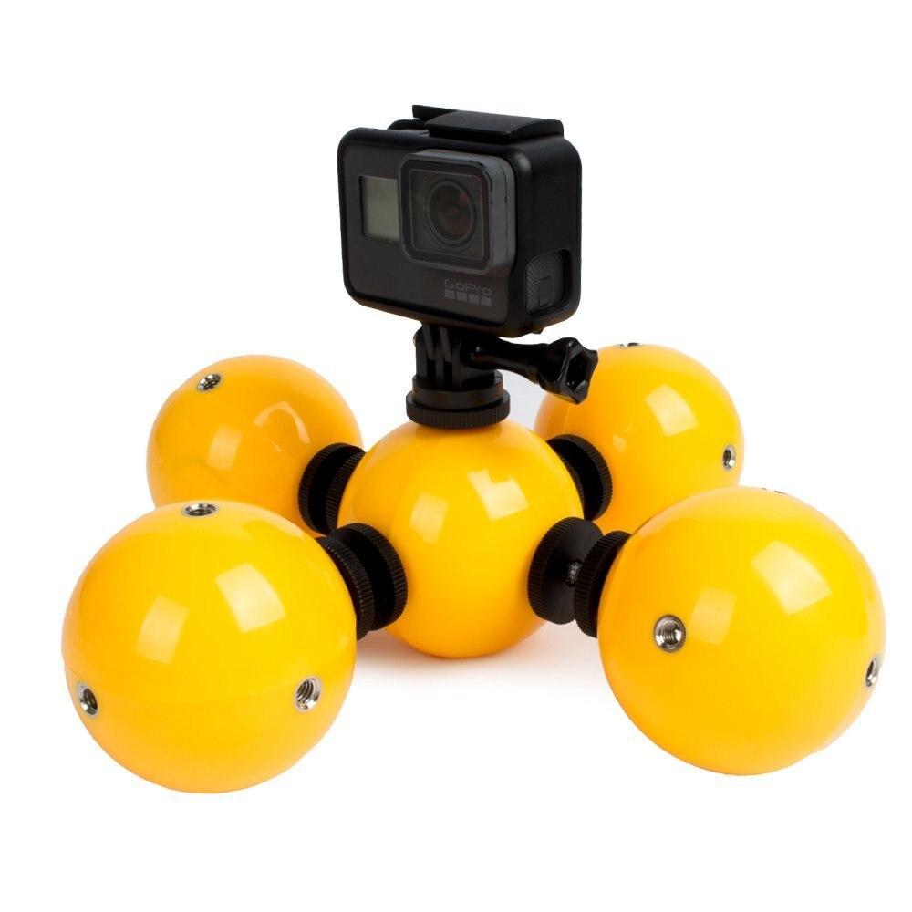 Unterwasser Kamera Schwimmdock Ball Auftrieb Halter Für Gopro Hero 7 6 5 4 3 Kamera & Foto Zubehör Sitzung Sjcam Xiaoyi 1 2 4 Karat Kamera Zubehör F3518 BüGeln Nicht Sportcamcorder-hüllen