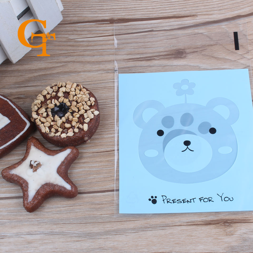 popular modern packagingbuy cheap modern packaging lots from  - light blue with bear square plastic bagsplastic simple modern gift bagsmini cartoon