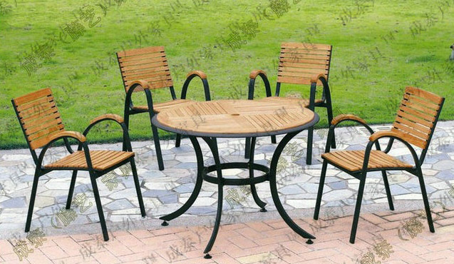 Iron And Wood Patio Furniture online buy wholesale picnic table settings from china picnic table