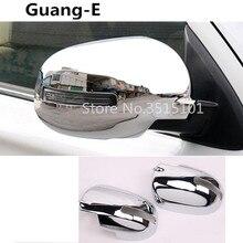 Автомобильный Стайлинг ABS хром заднего вида боковое стекло зеркало крышка отделка рамка 2 шт для Mitsubishi Outlander