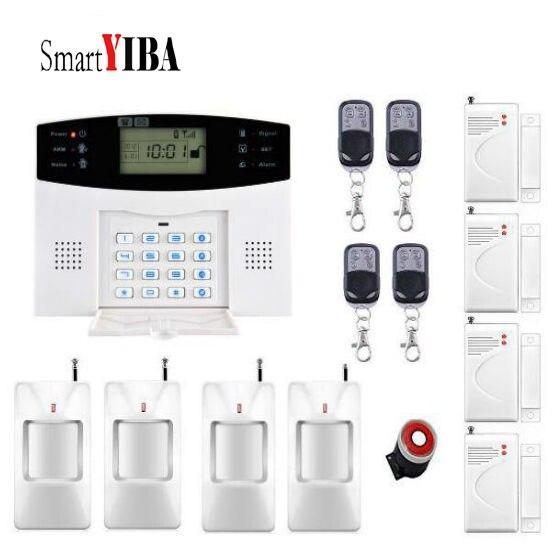 SmartYIBA Russisch Spanisch Engish Französisch quad band GSM alarmanlage Hause seccurity alarm smart alarm system - 4