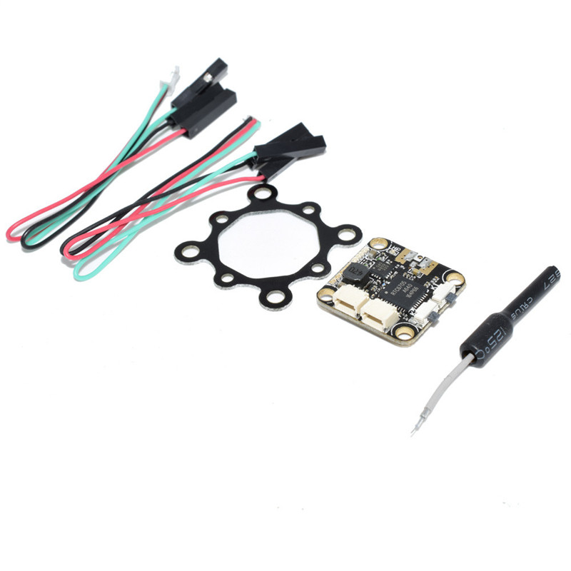 5.8G 48CH 25mW/200mW Switchable FPV Transmitter TX IPEX IPX 16*16mm Mounting Hol Biography