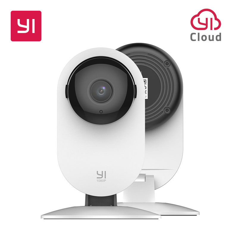 YI 1080p Home Camera Indoor IP Security Surveillance System with Night Vision for Home/Office/Baby/Nanny/Pet Monitor White(China)