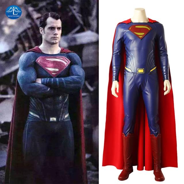 Movie Justice League Superman Costume Men Superman Clark Kent Cosplay Costume Halloween Carnival Costumes For Men  sc 1 st  AliExpress.com & Movie Justice League Superman Costume Men Superman Clark Kent ...